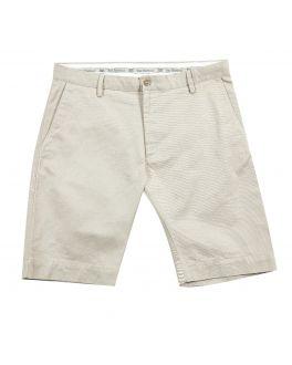 Stone Cotton Chino Shorts