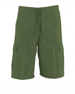 Bar Harbour Khaki Cargo Shorts Front