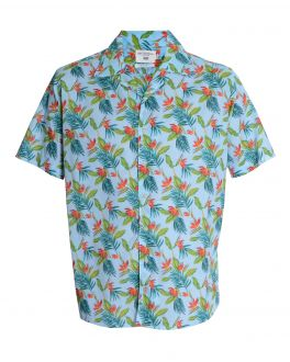 Tropical Patterned Casual Shirt