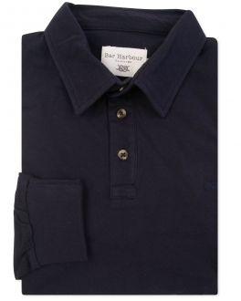 Ink Long Sleeve Polo Shirt