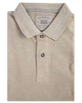 Stone Pique Polo Shirt