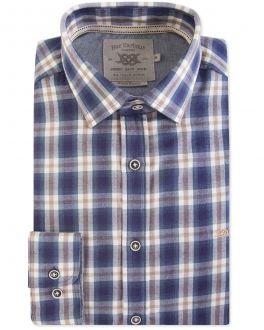 Blue Diesel Check Casual Shirt