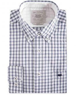 Ink Eddie Oxford Check Casual Shirt