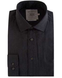 Black Stripe Soft Touch Casual Shirt