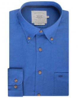 Aztec Blue Long Sleeve Casual Shirt