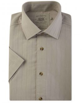 Stone Soft Touch Short Sleeve Casual Shirt