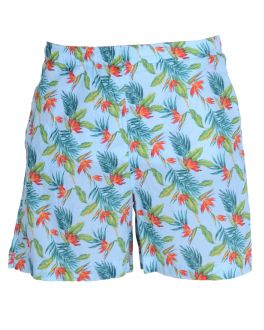 Tropical Patterned Shorts