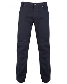 Bar Harbour Navy Jean Style Trousers Front
