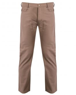 Bar Harbour Stone Jean Style Trousers Front