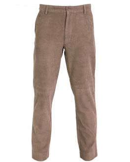 Bar Harbour Taupe Corduroy Trousers Front