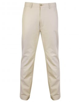 Bar Harbour Stone Cotton Chino Trousers Front