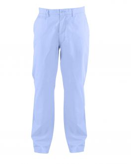 Blue Tapered Chino Trousers