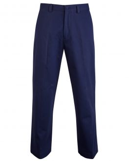 Bar Harbour Navy Chino Trousers Front