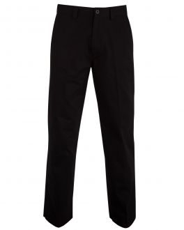 Bar Harbour Black Chino Trousers Front