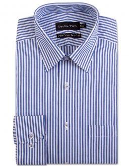 Blue Bengal Stripe Formal Shirt