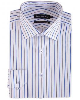 Blue Stripe Formal Shirt