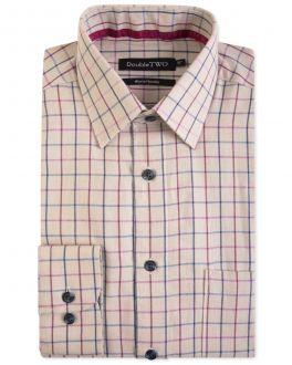 Wine Warm Handle Formal Shirt