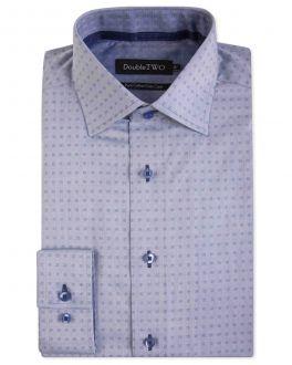 Light Blue Dobby Pattern Formal Shirt