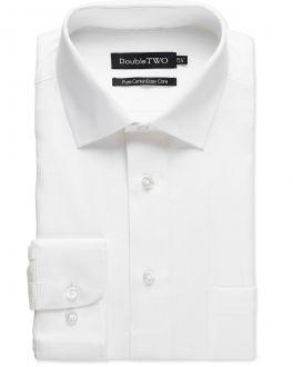 White Dobby Weave Formal Shirt