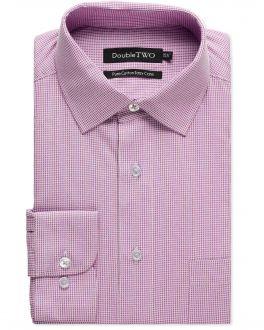 Lilac Dobby Weave Formal Shirt