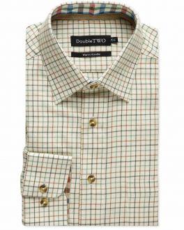Green Tattersall Check Warm Handle Shirt