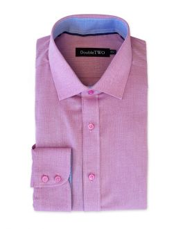 Mulberry Royal Oxford Weave Formal Shirt