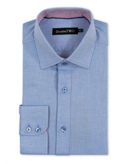 Blue Royal Oxford Weave Formal Shirt