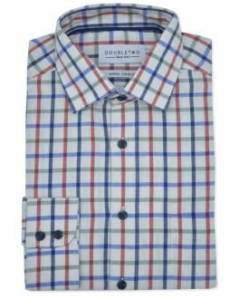 Cinnamon Tattersall Check Long Sleeve Shirt