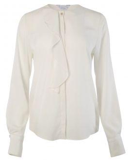 Ivory Waterfall Front Women's Shirt