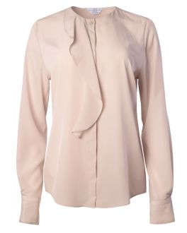 Taupe Waterfall Front Women's Shirt