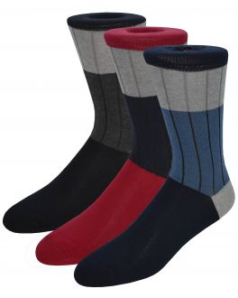 Ribbed Cotton Rich Socks (pack of 3)