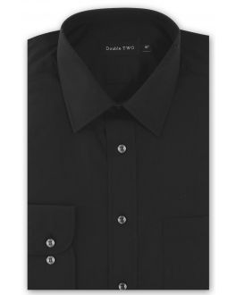 Black Tall Fit Long Sleeved Shirt