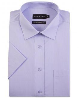 Mauve Short Sleeve Non-Iron Shirt