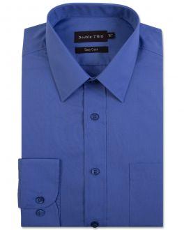Speedwell Blue Tall Fit Long Sleeved Shirt