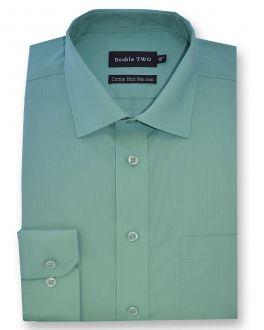 Marine Green Long Sleeve Non-Iron Shirt