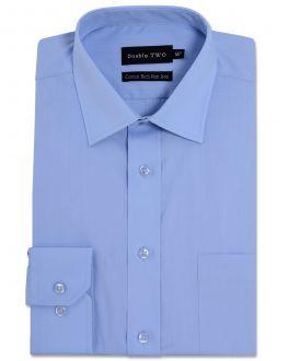 Fresh Blue Long Sleeve Non-Iron Shirt