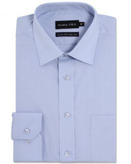 Sky Blue Long Sleeve Non-Iron Shirt