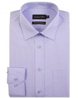 Mauve Long Sleeve Non-Iron Shirt