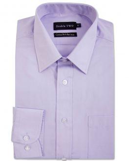 Lilac Long Sleeve Non-Iron Shirt