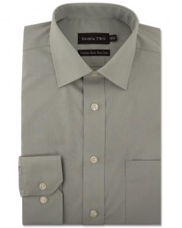 Sage Green Long Sleeve Non-Iron Shirt