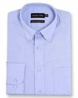 Blue Non-Iron Button Down Oxford Shirt