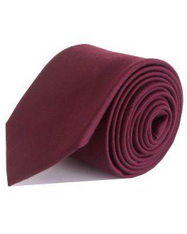 Plum Bamboo Tie