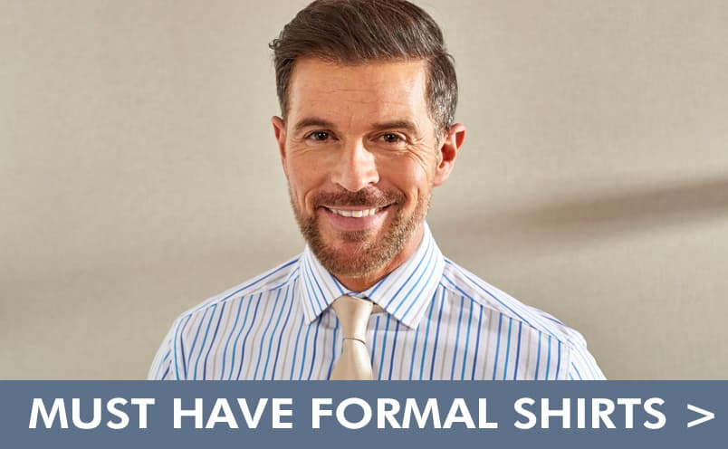 Patterned Formal Shirts