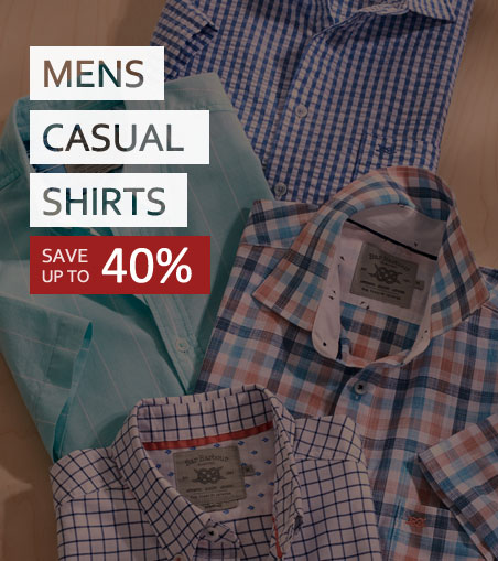 Double Two Casual Shirt Sale