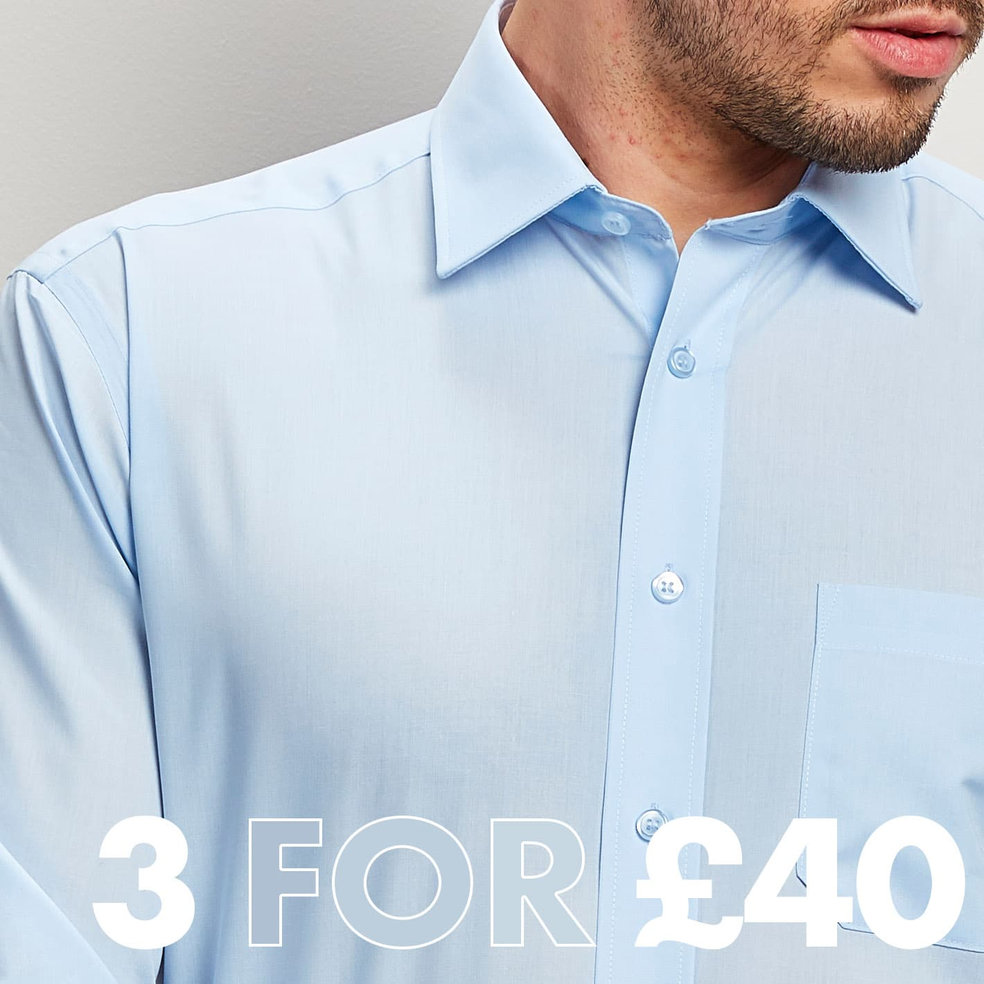 3 Shirts for £40
